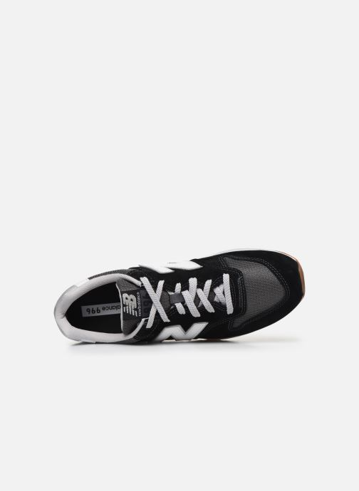 Sneaker New Balance CM996 schwarz ansicht von links