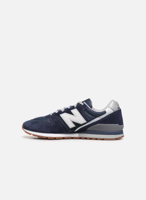 Baskets New Balance CM996 Bleu vue face