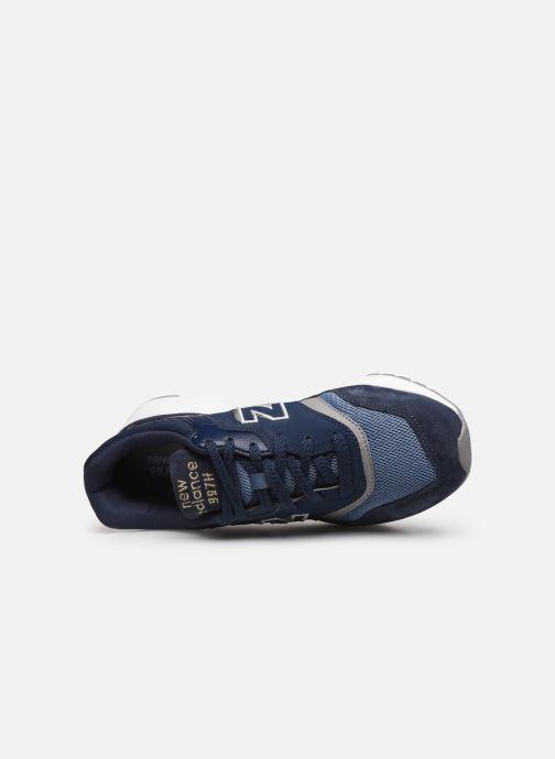 Baskets New Balance CW997 Bleu vue gauche