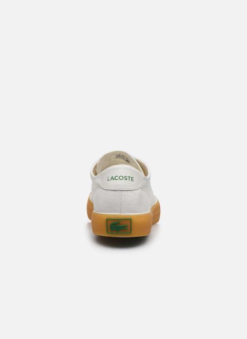 Baskets Lacoste Gripshot 120 6 Cma Blanc vue droite