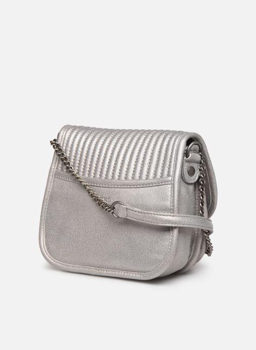 Handtassen IKKS Women BQ95629 Zilver rechts