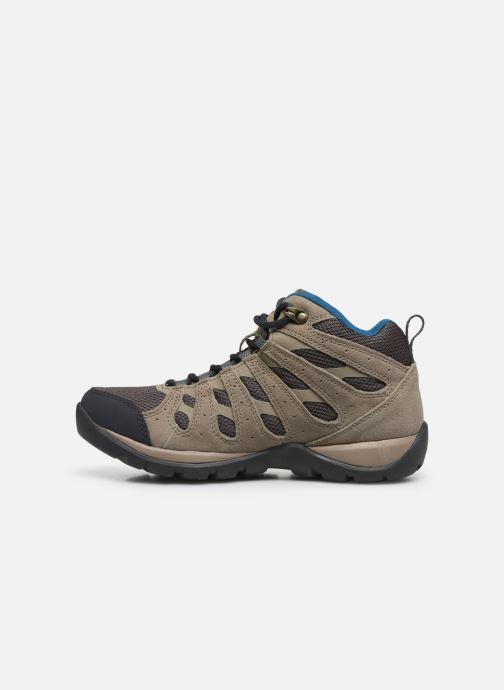 Chaussures de sport Columbia Redmond V2 Mid Waterproof Beige vue face