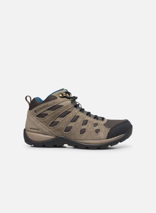 Chaussures de sport Columbia Redmond V2 Mid Waterproof Beige vue derrière