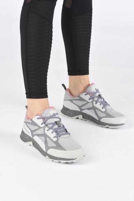 Chaussures de sport Columbia Vitesse Outdry Gris vue bas / vue portée sac