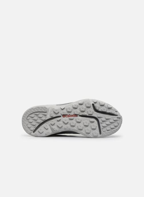 Chaussures de sport Columbia Vitesse Outdry Gris vue haut