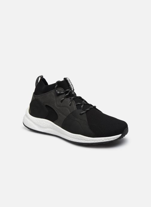 Chaussures de sport Columbia Shift Outdry Mid Noir vue détail/paire