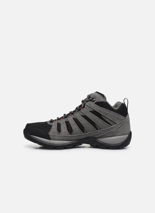 Chaussures de sport Columbia Redmond V2 Mid Waterproof Gris vue face