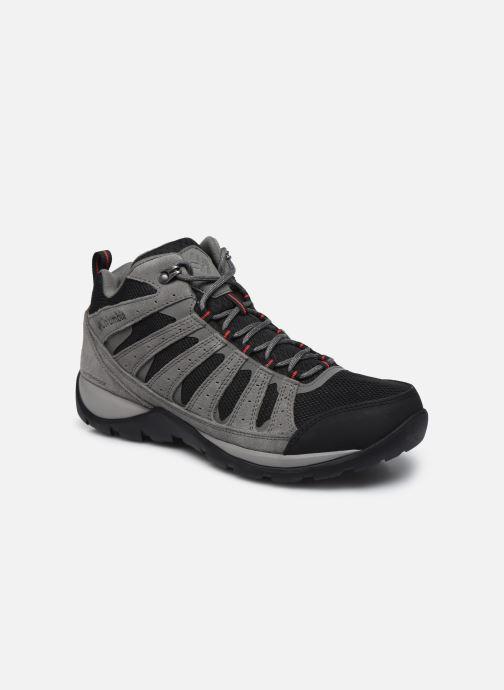 Chaussures de sport Columbia Redmond V2 Mid Waterproof Gris vue détail/paire