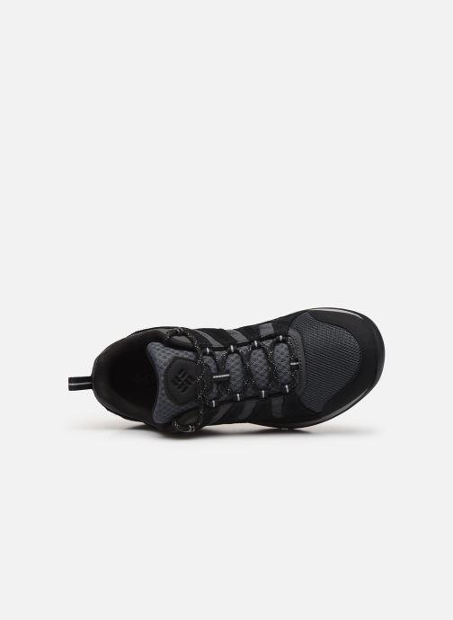 Zapatillas de deporte Columbia Redmond V2 Negro vista lateral izquierda