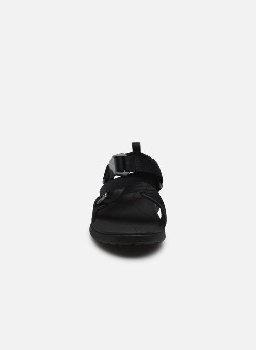 Sandalen Columbia Columbia Sandal schwarz schuhe getragen