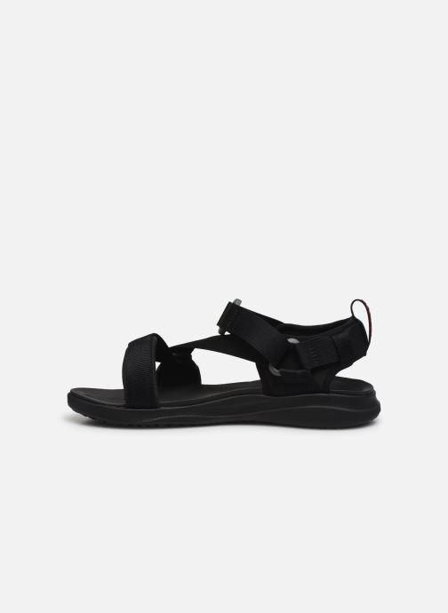 Sandalen Columbia Columbia Sandal schwarz ansicht von vorne