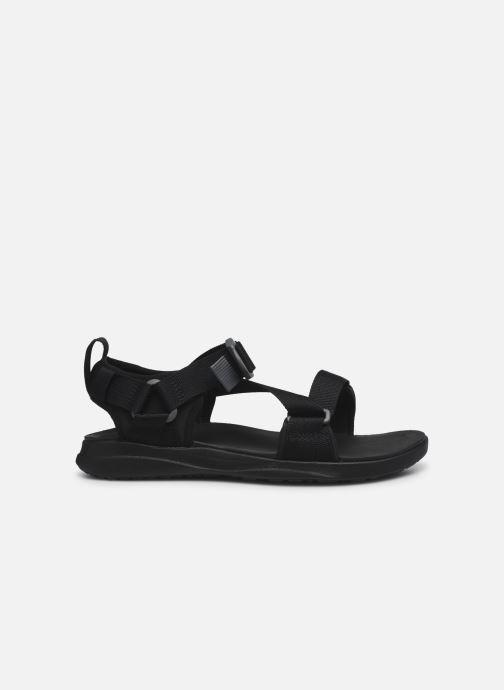 Sandalen Columbia Columbia Sandal schwarz ansicht von hinten