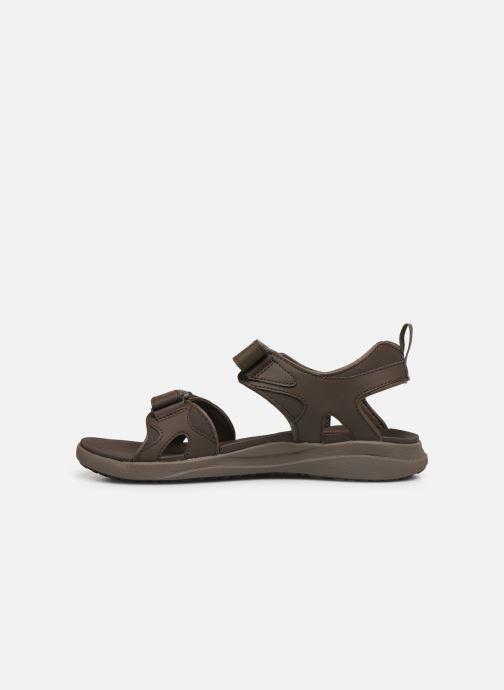 Sandales et nu-pieds Columbia Columbia 2 Strap Marron vue face