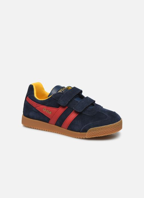Sneakers Gola Harrier Velcro Blauw detail