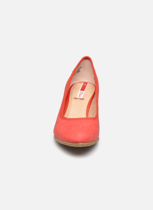 Escarpins S.Oliver SOVA Rouge vue portées chaussures