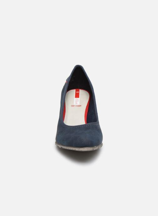 Escarpins S.Oliver SOVA Bleu vue portées chaussures