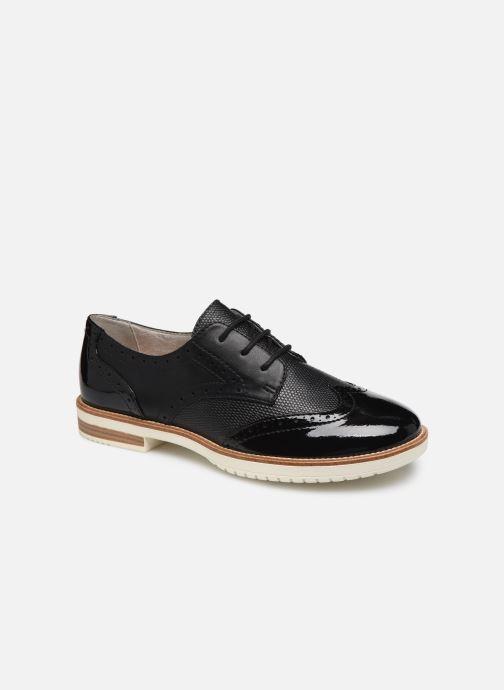 Chaussures à lacets S.Oliver SARIEL Noir vue détail/paire
