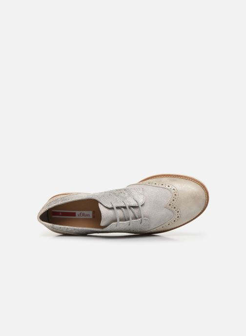 Zapatos con cordones S.Oliver SARIEL Gris vista lateral izquierda