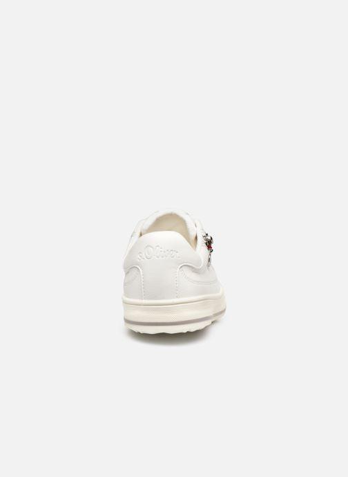 Sneakers S.Oliver SASKIA Bianco immagine destra