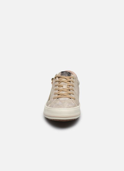 Trainers S.Oliver SASKIA Bronze and Gold model view