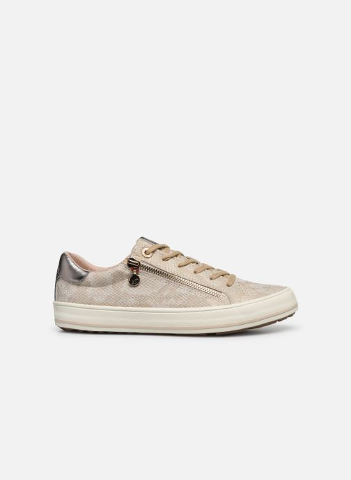 Trainers S.Oliver SASKIA Bronze and Gold back view
