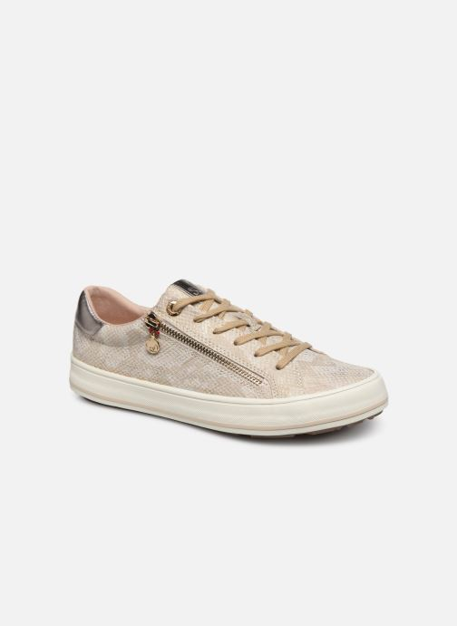 Trainers S.Oliver SASKIA Bronze and Gold detailed view/ Pair view