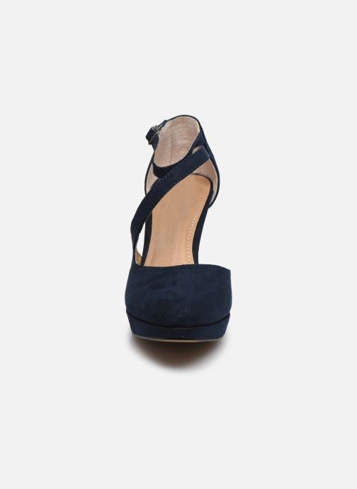 Escarpins S.Oliver SHINO Bleu vue portées chaussures