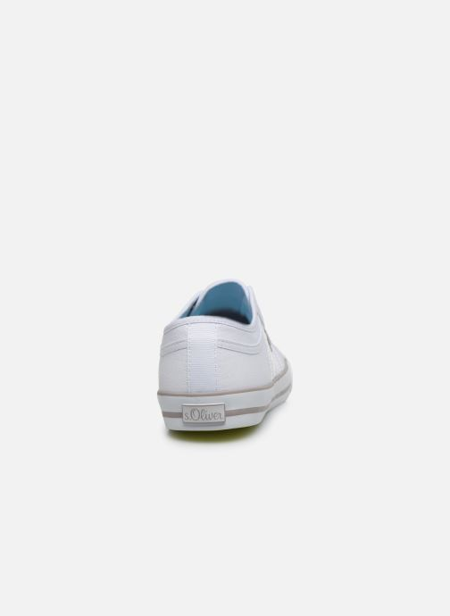 Sneakers S.Oliver SOFY Bianco immagine destra