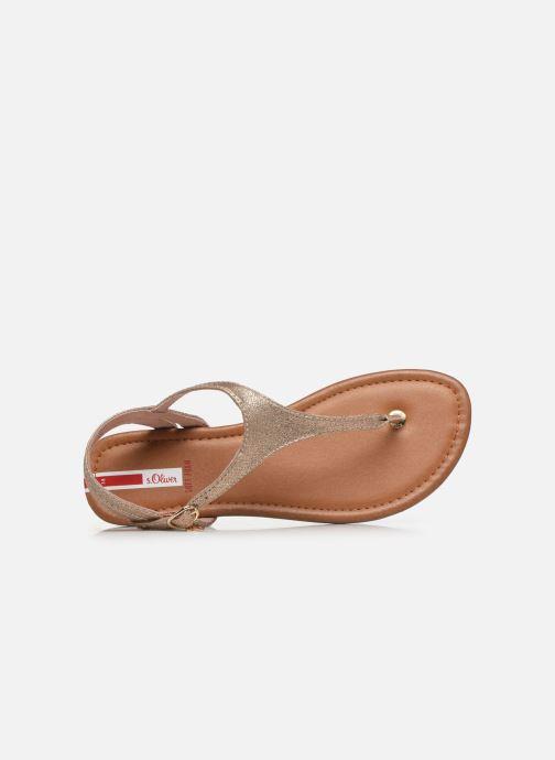 Sandali e scarpe aperte S.Oliver SIDEL Rosa immagine sinistra