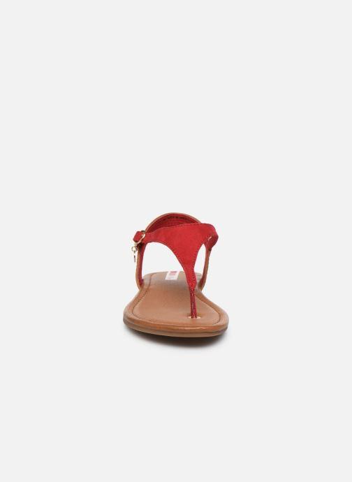 Sandales et nu-pieds S.Oliver SELMA Rouge vue portées chaussures
