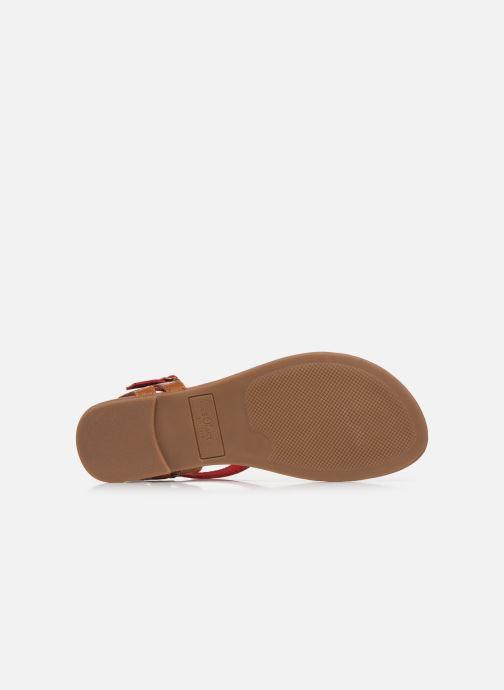 Sandales et nu-pieds S.Oliver SELMA Rouge vue haut