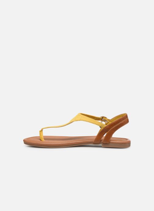 Sandales et nu-pieds S.Oliver SELMA Jaune vue face