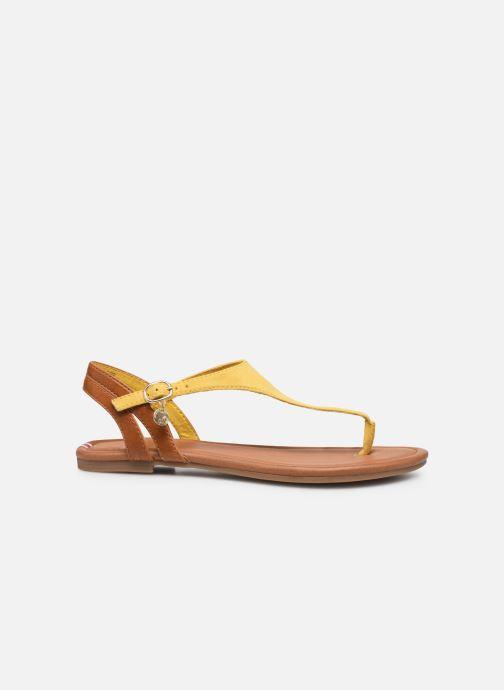 Sandales et nu-pieds S.Oliver SELMA Jaune vue derrière