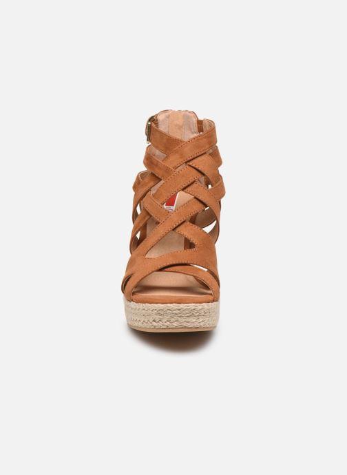 Sandales et nu-pieds S.Oliver SELEA Marron vue portées chaussures