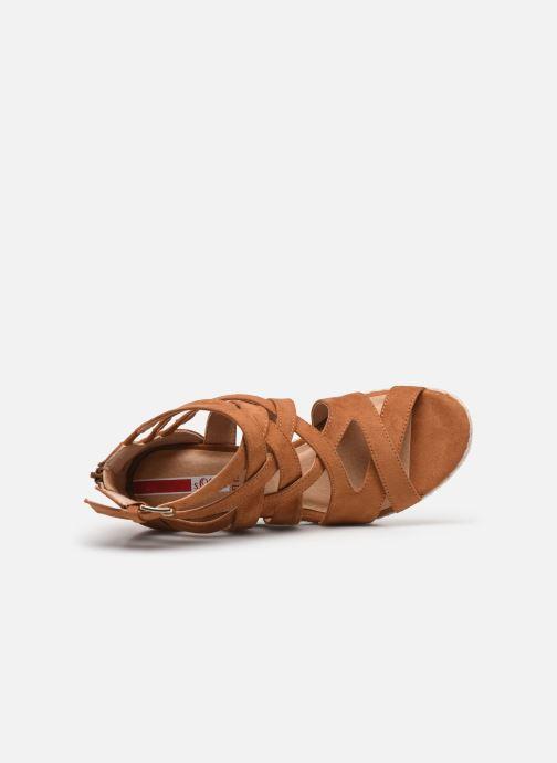 Sandales et nu-pieds S.Oliver SELEA Marron vue gauche