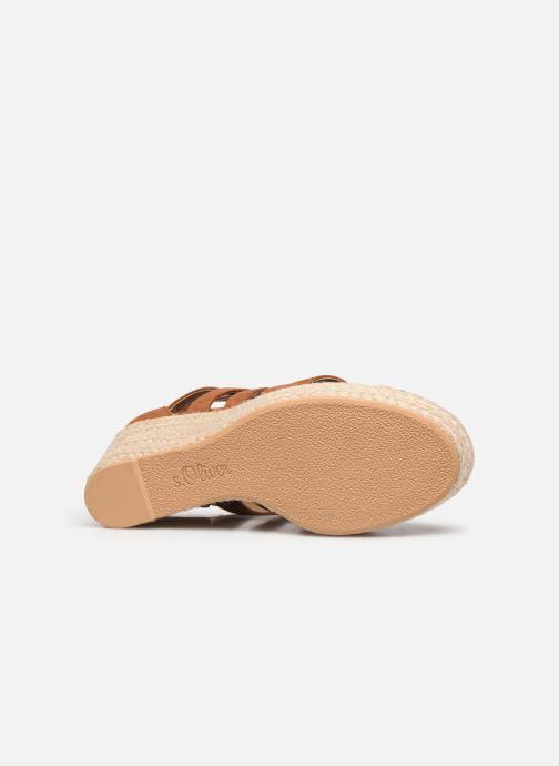 Sandales et nu-pieds S.Oliver SELEA Marron vue haut