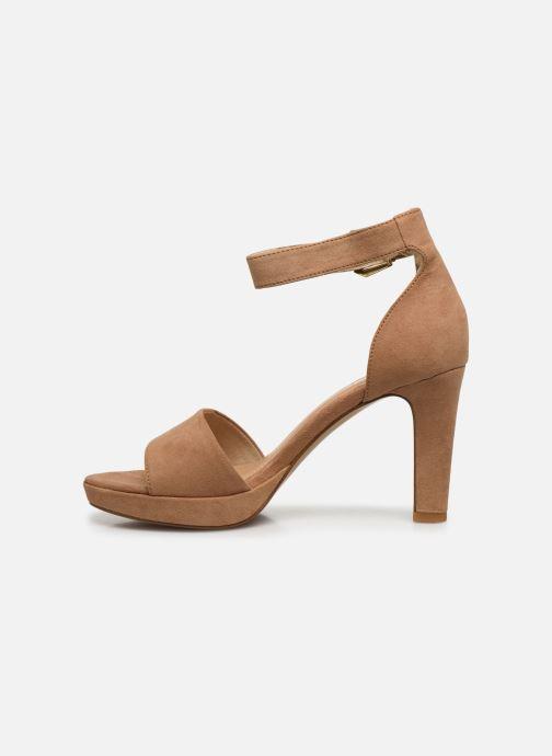 Sandales et nu-pieds S.Oliver SILOE Beige vue face