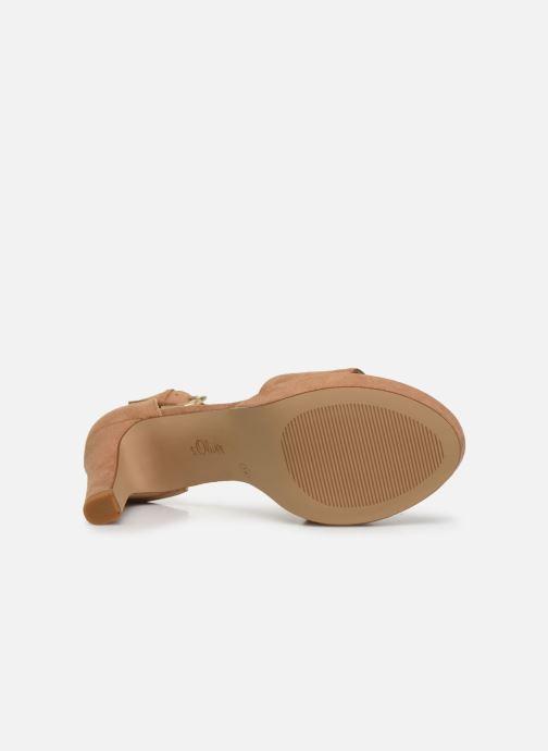 Sandales et nu-pieds S.Oliver SILOE Beige vue haut