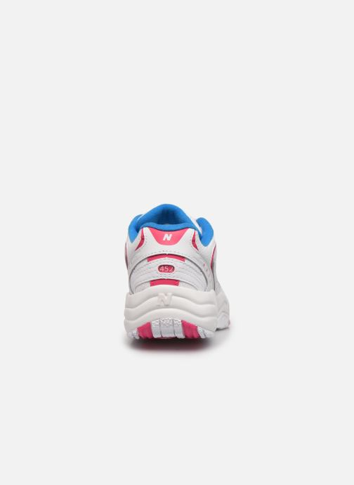 Trainers New Balance WX452 White view from the right