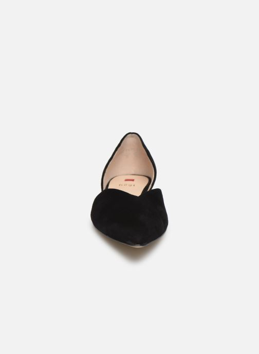 Ballerines HÖGL All-Day Noir vue portées chaussures