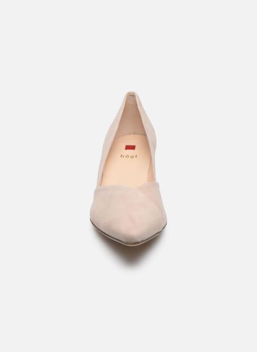 Zapatos de tacón HÖGL Personality Beige vista del modelo