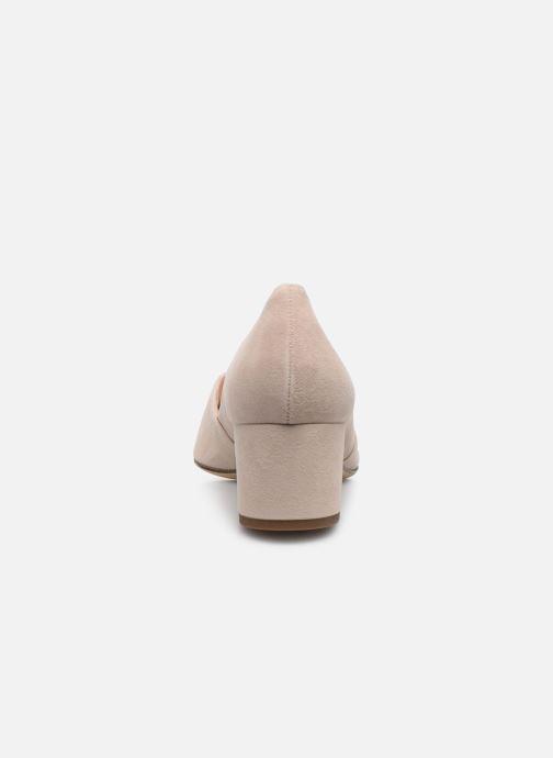 Zapatos de tacón HÖGL Personality Beige vista lateral derecha