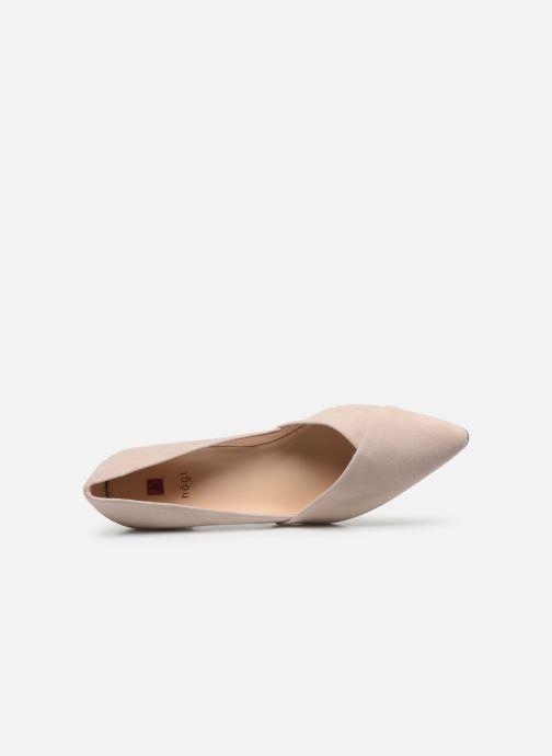 Zapatos de tacón HÖGL Personality Beige vista lateral izquierda