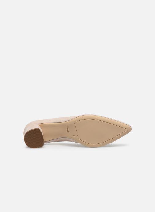 Zapatos de tacón HÖGL Personality Beige vista de arriba
