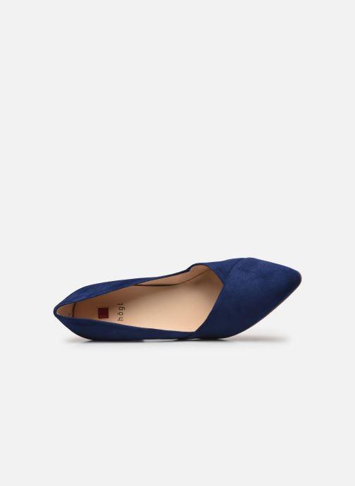 Zapatos de tacón HÖGL Business Azul vista lateral izquierda