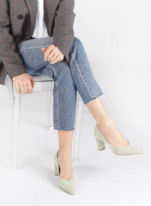 Zapatos de tacón HÖGL Business Verde vista de abajo