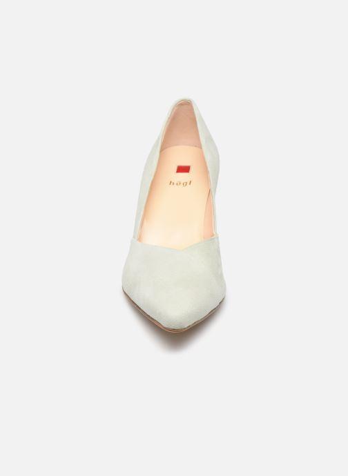 Escarpins HÖGL Business Vert vue portées chaussures