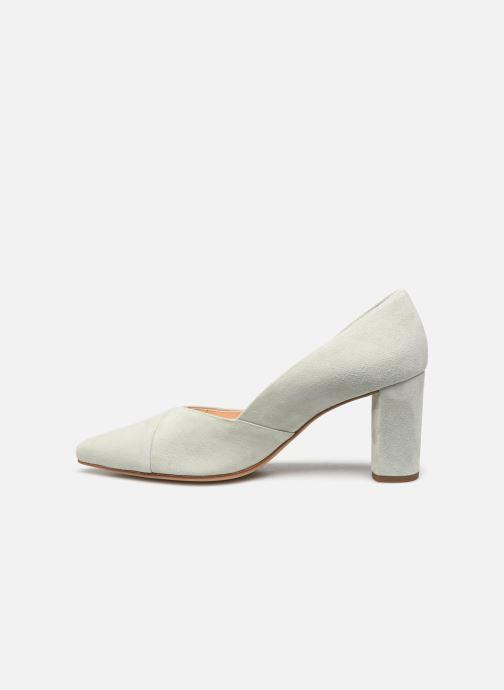 Zapatos de tacón HÖGL Business Verde vista de frente