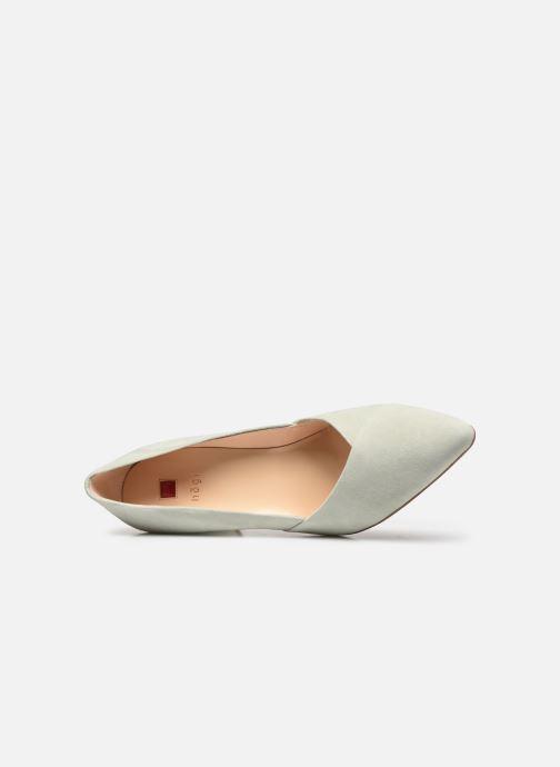 Zapatos de tacón HÖGL Business Verde vista lateral izquierda