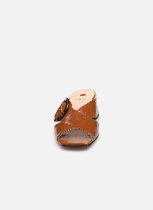 Mules et sabots HÖGL Aria Marron vue portées chaussures